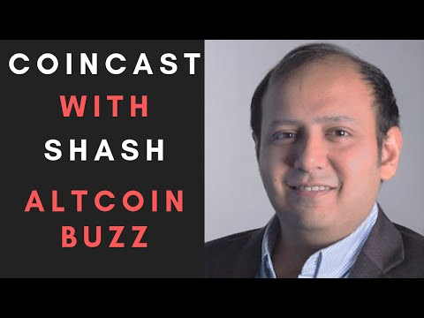 CoinCast Ep#1: Altcoin Buzz Co-Founder Shash Explains The Crypto Market and His Favourite Coins!