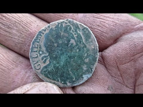 OMG! GPX5000 Finds 1694 William And Mary Coin
