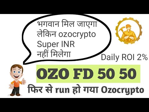 Ozo crypto FD ( Daily roi 2% ) with new Crypto update facebook coin Libra