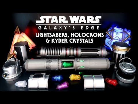 Star Wars Galaxy's Edge: Lightsabers, Holocrons, Kyber Crystals and How They Work