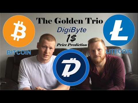 Can Bitcoin & Litecoin Pull Digibyte To $1.00! Price Prediction! #Podcast 77