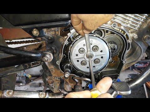 Como Regular Embreagem da Yamaha YBR e XTZ, Por Dentro e Fora do Motor. #regular #embreagem #da #ybr