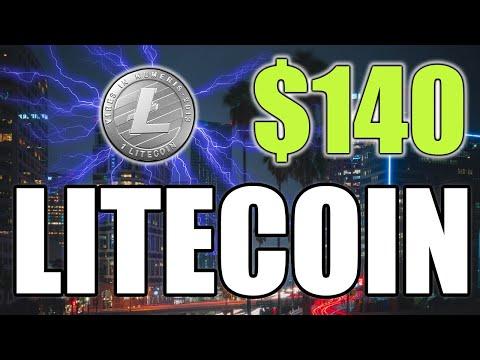 LITECOIN AT $140 RESISTANCE – LTC PRICE UPDATE UNDER 5 MINUTES!
