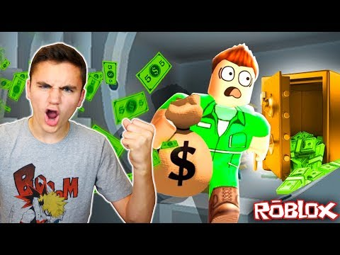 JE BRAQUE UNE BANQUE ! (Roblox Mad City) – Néo The One