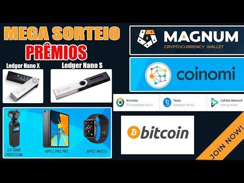 Giveaway | 2 LEDGER NANO + BITCOIN, TEZOS, KOMODO, CALLISTO, APPLE WATCH, IPAD PRO e +