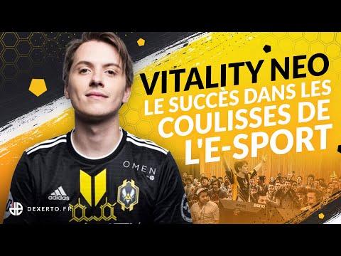 VITALITY NEO, LE SUCCÈS DANS LES COULISSES DE L'E-SPORT