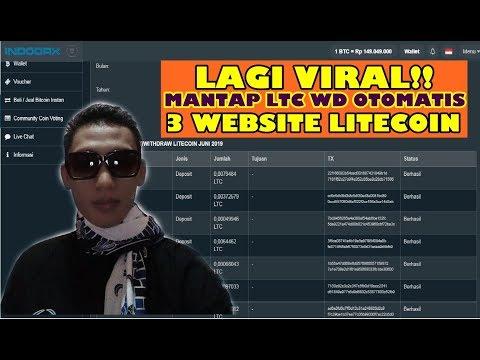 Mantap Betul!! 3 Situs litecoin mining & invest WD otomatis