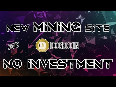NEW FREE CLOUD MINING SITE – DOGECOIN – TEST WITHDRAWAL | NO INVESTMENT