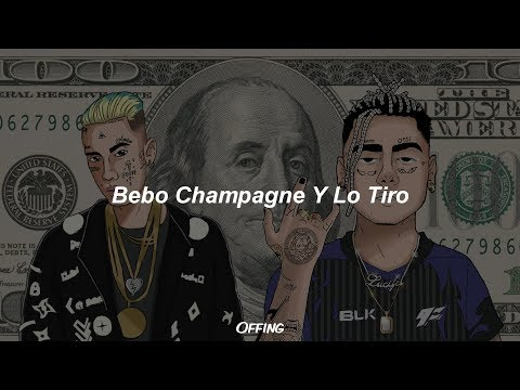 Duki x Neo Pistea – Bebo Champagne Y Lo Tiro (Letra)
