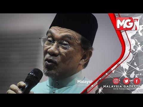 TERKINI : Dah Tak Ada Jawatan Bising! Tak Ada Maslah AZMIN Duduk dengan AG! – Anwar Ibrahim