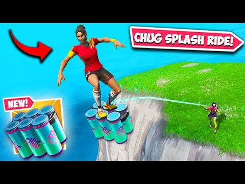 *NEW* INSANE CHUG SPLASH TRICK!! – Fortnite Funny Fails and WTF Moments! #596