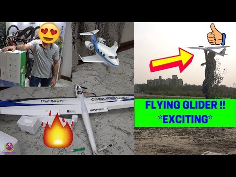 The Most Lightweight RC GLIDER Unboxing and Flying – Only 250 GMS !! 😍🔥😎
