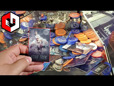 ITS FINALLY HERE! Summer 2019 Star Trek Coin Pusher Card Set