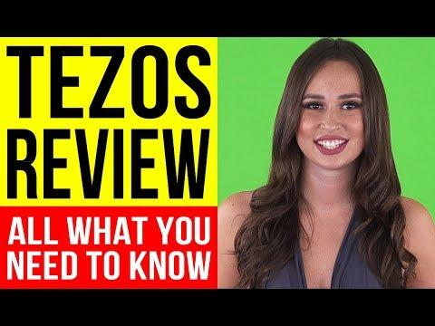 TEZOS (XTZ)- What Is Tezos – Tezos Review