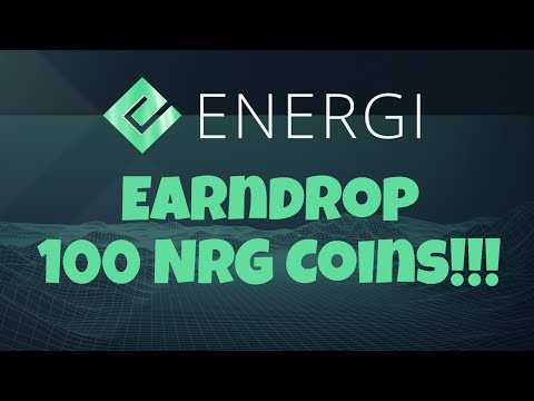 Energi Coin Earndrop and High ROI Staking  – Crypto Update 06-09-19