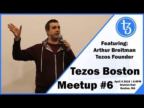 Tezos Boston Meetup #6 | Featuring Arthur Breitman Tezos Founder and TCF