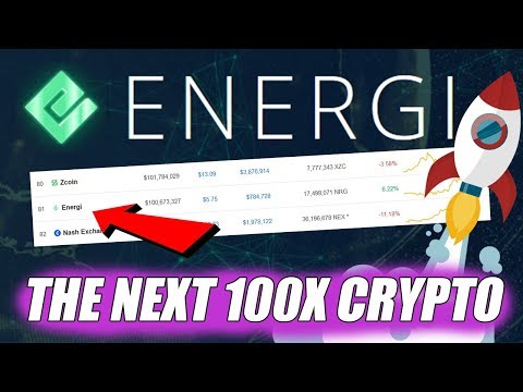 Is Energi (NRG) the next 100x cryptocurrency?