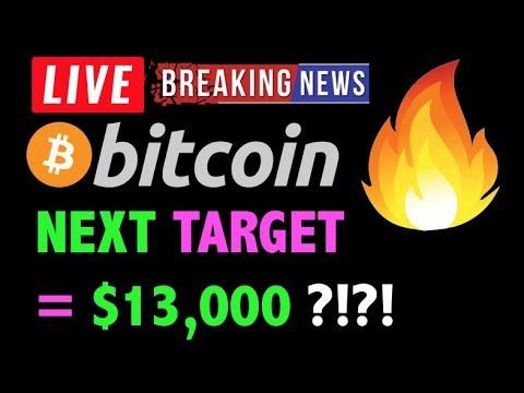 Bitcoin IS $13K NEXT TARGET?! ??-LIVE Crypto Trading Analysis & BTC Cryptocurrency Price News 2019