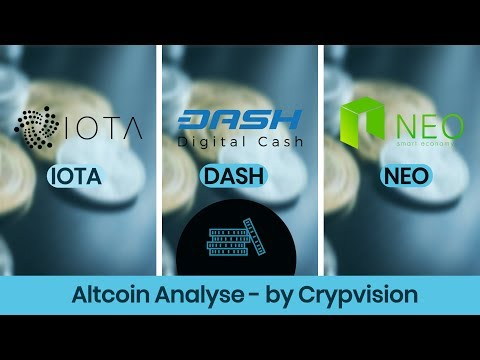 Mögliche Preisentwicklung zu IOTA, DASH und NEO!