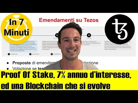 TEZOS (XTZ): Baking, Proof Of Stake e Rendita Passiva. Cos'è e Come funziona? (ITA)