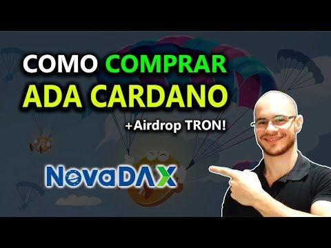 🛑 Veja como comprar ADA Cardano no Brasil! (+Airdrop NovaDAX)