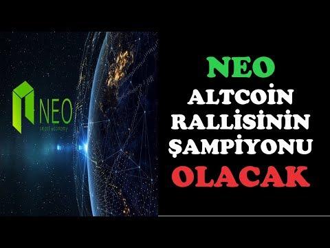 NEO Altcoin Rallisinin Şampiyonu OLACAK !!!