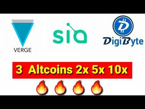 Siacoin  digibyte  xvg coin top 3 coin ???