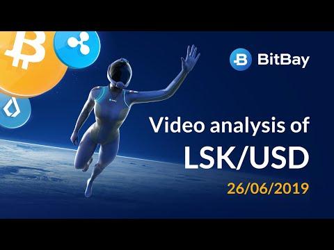 Lisk Price Technical Analysis LSK/USD 26/06/2019 – BitBay
