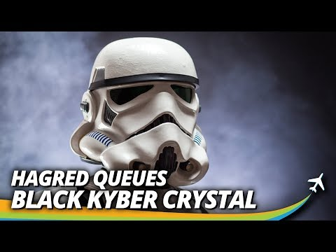 News Roundup Including the Black Kyber Crystal, Star Wars and Hagrid queues, and new.