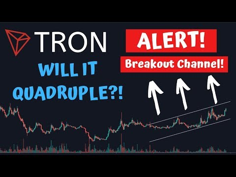 BUY TRON (TRX) NOW! TRON HUGE NEWS RELEASE! MASSIVE 400% SPIKE WITH $1 PRICE TARGET!