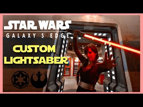 Galaxy's Edge Lightsaber Review // ALL KYBER CRYSTALS