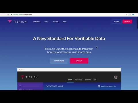Latest Altcoin & Cryptocurrency Trade Tierion TNT This Is No Ripple XRP!!!