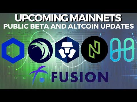Upcoming Mainnets and Public beta! HARMONY, FUSION, NULS, SAFEX, CRYPTO.COM – Crypto News