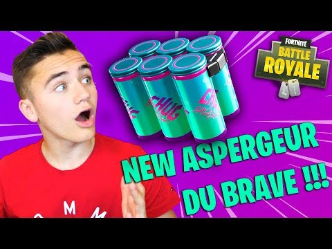 JE TESTE LE NEW ASPERGEUR DU BRAVE ! – FORTNITE BATTLE ROYALE – Néo The One