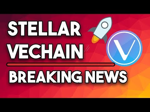 Stellar XLM The New Stablecoin & Vechain Is Making it, BIG TIME!