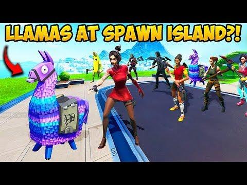 *SUPER RARE* LLAMA ON SPAWN ISLAND!! – Fortnite Funny Fails and WTF Moments! #603