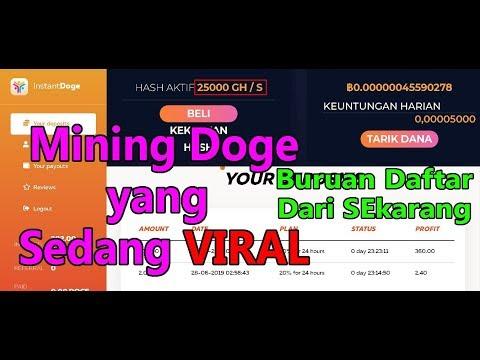 LEGIT | Mining Doge Yang Sedang Viral | Gratis 25000 G/hs