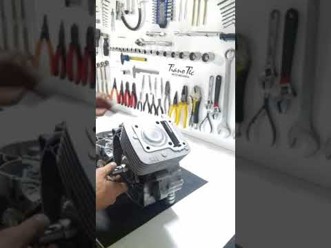Motstrando Kit 190cc Para XTZ YBR Factor 125, todos os detalhes Tiano Tec