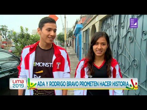Ada y Rodrigo Bravo prometen hacer historia en triatlón – Lima 2019