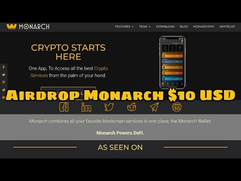 📣 Airdrop Monarch Token $10 USD [IEO LATOKEN] ❤️ #wallet