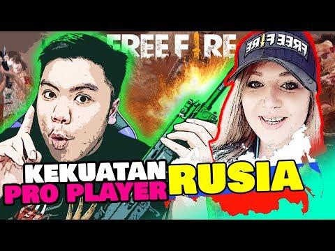 KEKUATAN PROPLAYER CEWE RUSIA RATAIN BANYAK SQUAD!! GA ADA OBAT! – Free Fire Indonesia #128