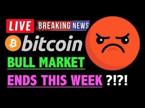 Bitcoin BULL MARKET ENDS THIS WEEK?! 🛑-LIVE Crypto Trading Analysis & BTC Cryptocurrency Price News