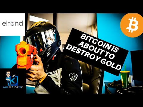 BITCOIN JUST KICKED GOLD TO THE CURB! US GOVERNMENT BEATEN BY BITCOIN! ELROND IS A MUST SEE!