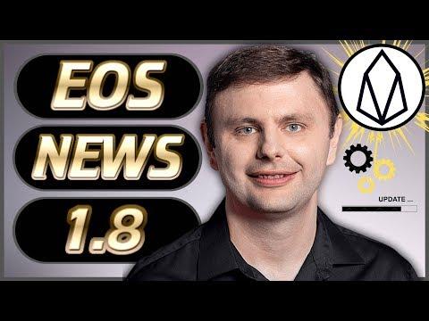 EOS News Weekly #27 – EOS 1.8 Github! – Dan Larimer Governance – EOSfinex – Prospectors & Much More!