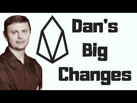 Dan's Big Changes Planned For EOS
