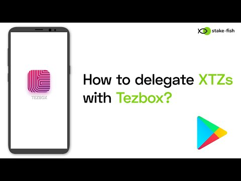 [stake.fish] How to delegate XTZs with Tezbox wallet?