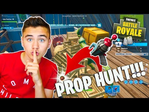 MON PREMIER PROP HUNT ! – CHASSE AUX OBJETS  FORTNITE BATTLE ROYALE – Néo The One