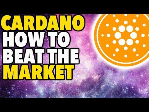 Cardano How To Beat The Market – ADA PRICE