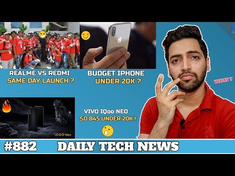Vivo IQoo Neo Killed Poco F1,Budget Iphone Launch,Redmi vs Realme Launch,Samsung M30s Launch #882