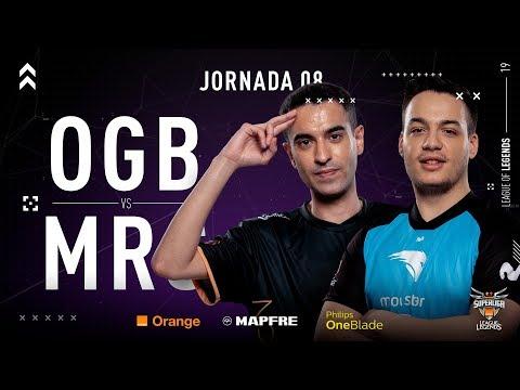 ORIGEN BCN VS MOVISTAR RIDERS | Superliga Orange League of Legends | Jornada 8 | Temporada 2019